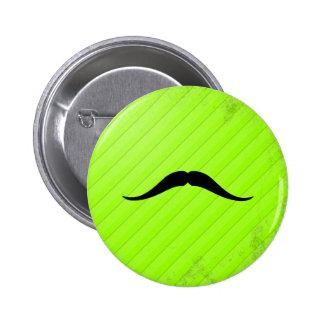 Pancho Villa Mustache Pinback Buttons