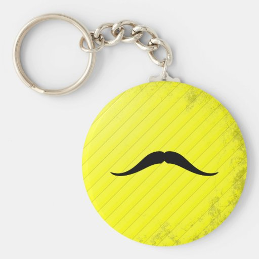 Pancho Villa Mustache Key Chain