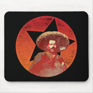 Pancho Villa Vintage Red Star Mouse Pad