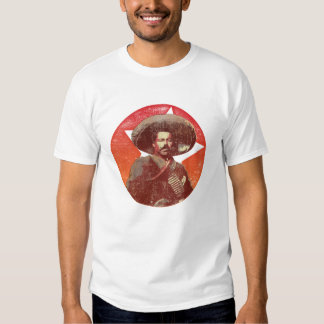 Pancho Villa Vintage Red Star Tshirts
