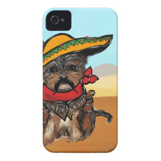 Pancho Yorkie Poo iPhone 4 Cover