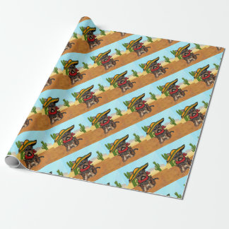Pancho Yorkie Poo Wrapping Paper