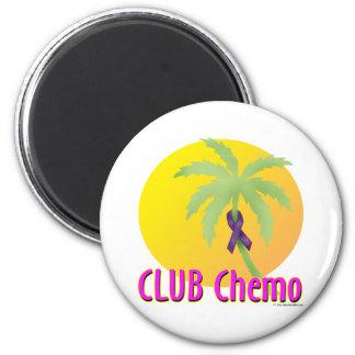Pancreatic Cancer 6 Cm Round Magnet