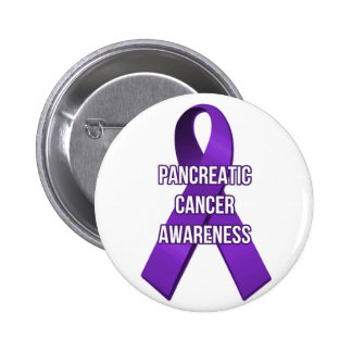 Pancreatic Cancer Awareness Ribbon Pin