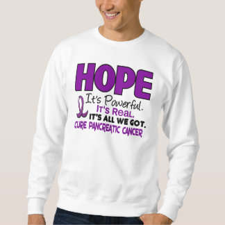 Pancreatic Cancer HOPE 1 Sweatshirt