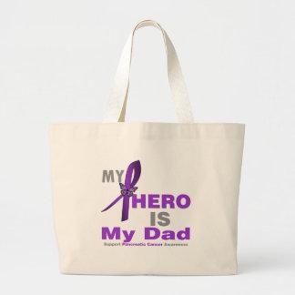 Pancreatic Cancer My Hero is My Dad Bag