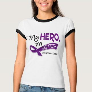 Pancreatic Cancer MY HERO MY SISTER 42 T-Shirt