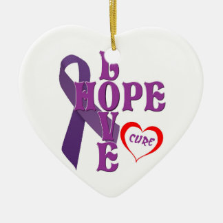 Pancreatic Cancer Ornament