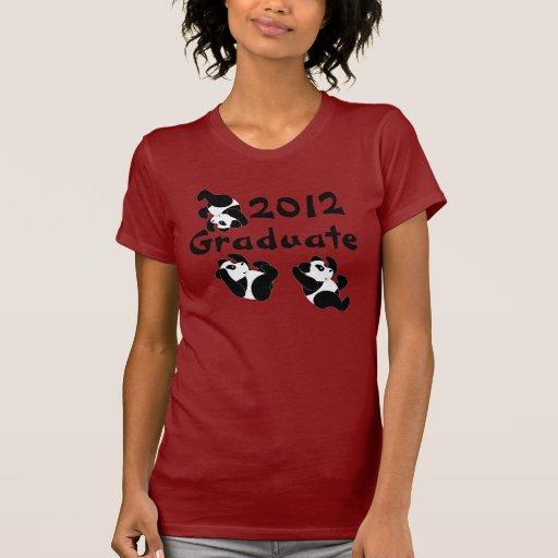 Panda 2012 Graduate Tshirt