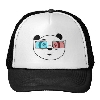 Panda - 3D Glasses (2) Hat