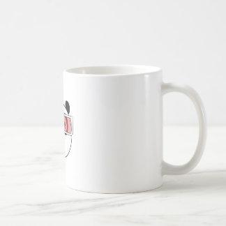 Panda - 3D Glasses Coffee Mug