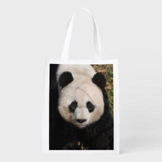 panda-92 reusable grocery bag