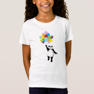 Panda and Balloons T-Shirt