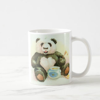 Panda and honey coffee mug