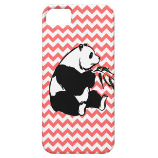 Panda and Pick Your Color Chevron iPhone 5 Cases