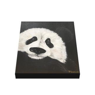 Panda art, panda painting , wall art