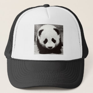 Panda Artwork Trucker Hat
