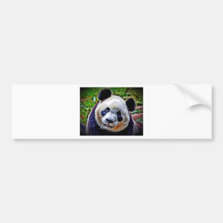 Panda Auto Sticker