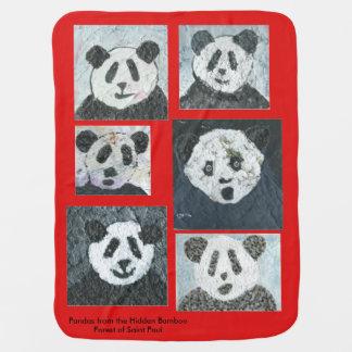 Panda Baby Blanket, Pandas, Baby Blanket, Blanket Receiving Blanket