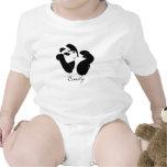 Panda Baby Bodysuits