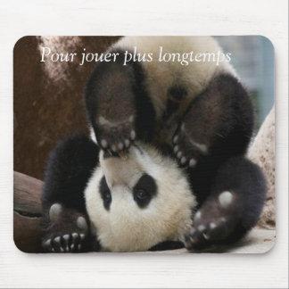 Panda baby mouse pad
