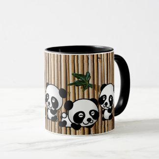 Panda Bamboo Coffee Mug