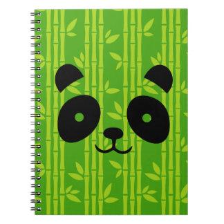 panda_bamboo spiral notebook