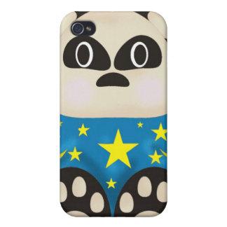 panda bear 4  cover for iPhone 4