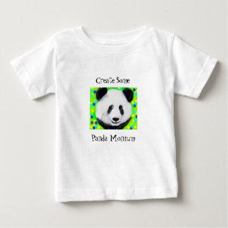 Panda Bear and polka dots T Baby T-Shirt