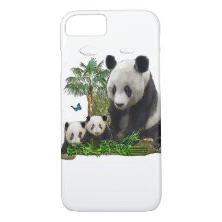 Panda bear art iPhone 8/7 case