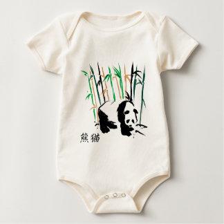 panda bear baby t-shirts and