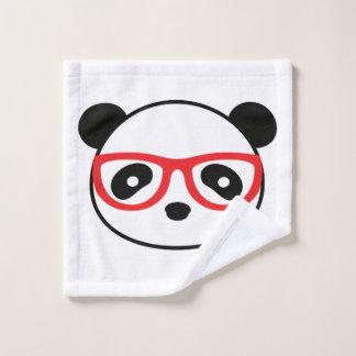 Panda Bear Bathroom Wash Cloth - Leon the Panda