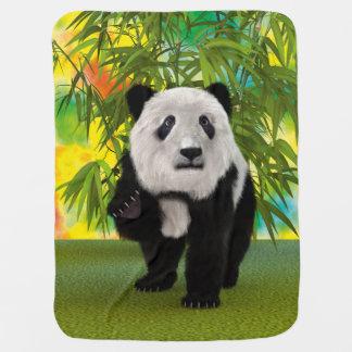 Panda Bear Buggy Blankets
