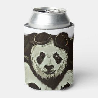 Panda Bear Can Cooler
