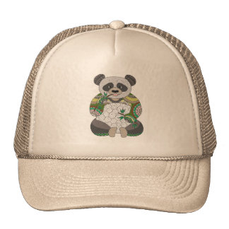 Panda Bear Cap