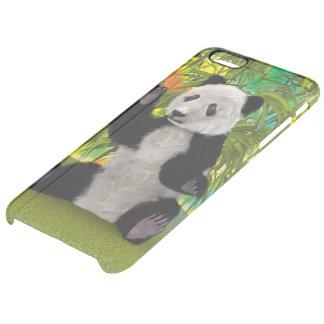 Panda Bear Clear iPhone 6 Plus Case