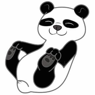 Panda Bear Cub Photo Sculpture Magnet
