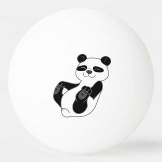 Panda Bear Cub Ping Pong Ball