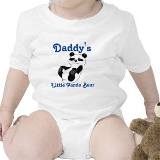 Panda Bear Customizable Kids Shirt with Blue Text