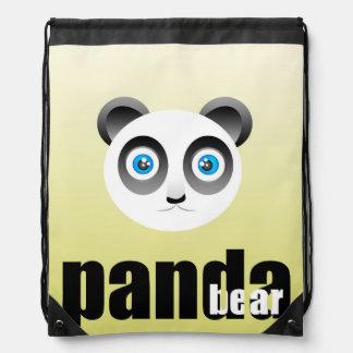 Panda Bear Drawstring Backpack