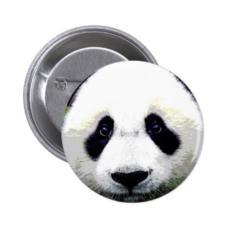 Panda Bear Eyes Pinback Button