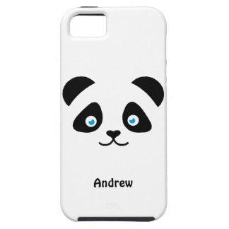 panda bear face iPhone 5 covers