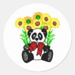 Panda Bear Flowers