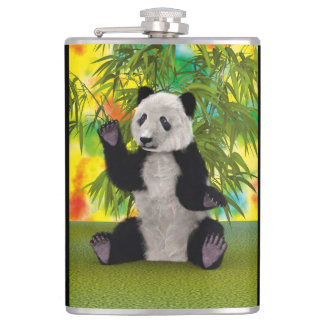 Panda Bear Hip Flask