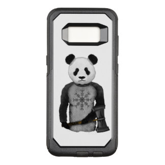 Panda Bear Holding Thor's Viking Hammer OtterBox Commuter Samsung Galaxy S8 Case