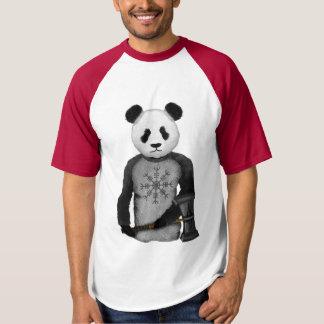 Panda Bear Holding Thor's Viking Hammer T-Shirt