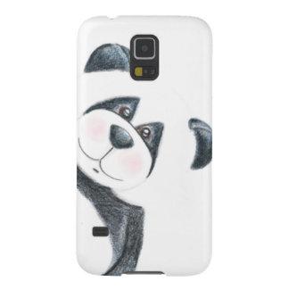Panda Bear Pencil Art Galaxy S5 Case