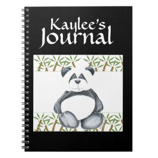 Panda Bear Picture Notebook