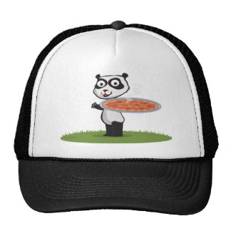 Panda Bear Pizza Cap