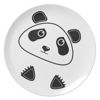 Panda Bear Plate